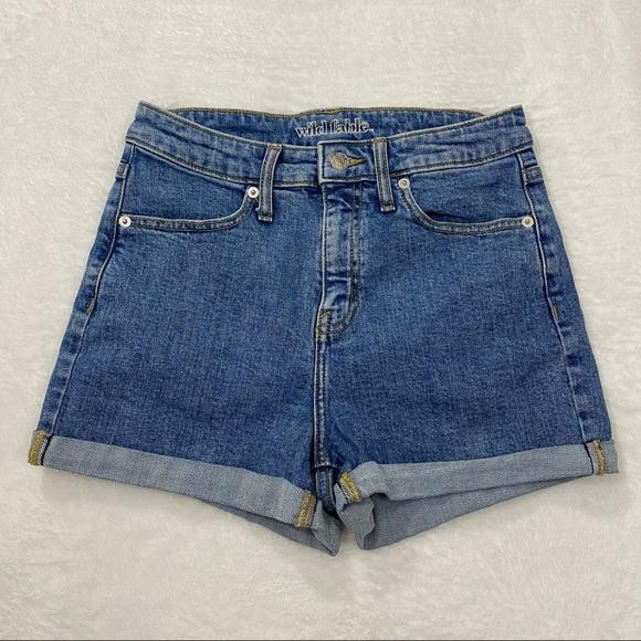 Wild Fable High Rise Denim Shorts